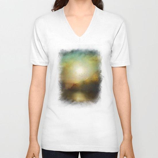 Poesia V-neck T-shirt