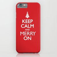 keep calm iPhone & iPod Cases featuring Keep Calm by Trend