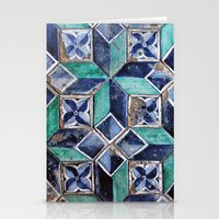 Tiling With Pattern 3 Stationery Cards