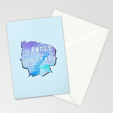The fault in our stars Stationery Cards