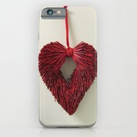 iPhone & iPod Case featuring Loving Red by World Raven