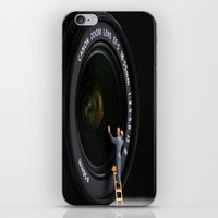 Keeping The Lenses Clean iPhone & iPod Skin