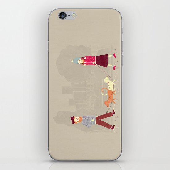 Dog People iPhone & iPod Skin