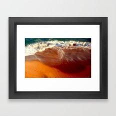 Ocean Trauma Framed Art Print