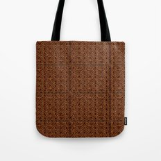 Celtic Carving - Not Your Average Knot Tote Bag