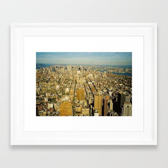 NEW YORK 4 Framed Art Print