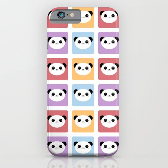Kawaii Panda Pop Pattern iPhone & iPod Case