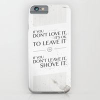 If you don't love it… A PSA for stressed creatives iPhone 6 Slim Case
