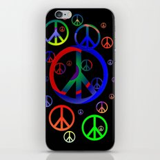 Peace time iPhone & iPod Skin
