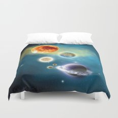 New Solar System Duvet Cover