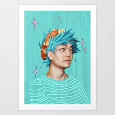 STARRY Art Print