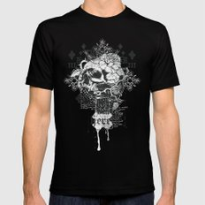 I am Heretic SMALL Black Mens Fitted Tee