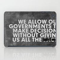 The Facts iPad Case
