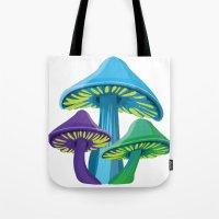 Alice's Shrooms Tote Bag