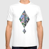 Negative Mens Fitted Tee White SMALL