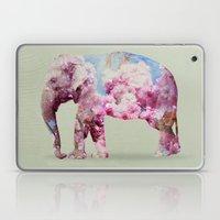 Cherry Blossom Elephant Laptop & iPad Skin