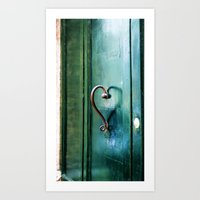 Handle on Love Art Print