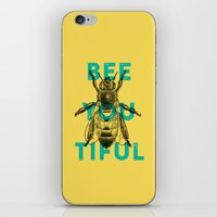 Bee-you-tiful iPhone & iPod Skin