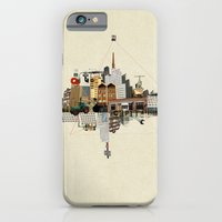 iPhone Cases featuring Collage City Mix 5 by Marko Köppe