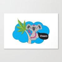 Cheers mates Canvas Print