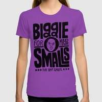 Biggie Smalls For Mayor Womens Fitted Tee Ultraviolet SMALL