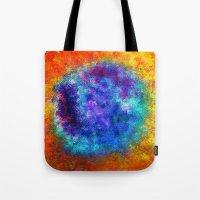 Plasmic Earth Number One Tote Bag