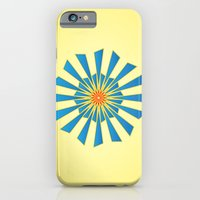 Spring Blue iPhone 6 Slim Case