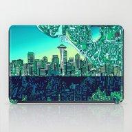 Seattle City Skyline iPad Case