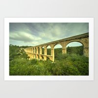 Pont Del Diable Art Print