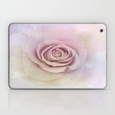 Forever My Love Pink Rose Abstract Laptop & iPad Skin