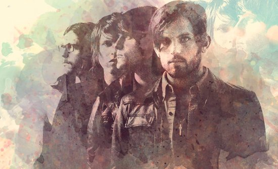 kings of leon Canvas Print