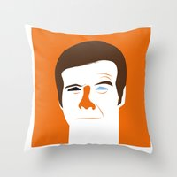 Steve Austin, The Six Mi… Throw Pillow