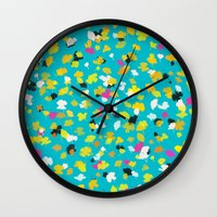 buttercups 1 Wall Clock