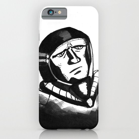 SpaceMan iPhone & iPod Case