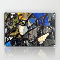 Closeup (PHOTO) of a Glass Mosaic Laptop & iPad Skin