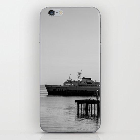 Coho at Dock iPhone & iPod Skin