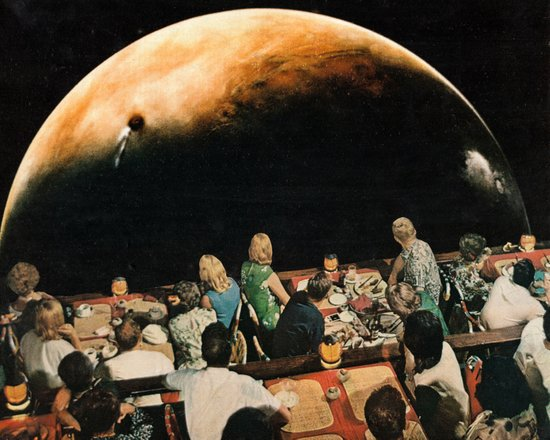 Dinner and a Show Art Print