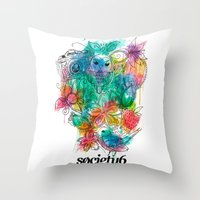 S6 Tee Throw Pillow