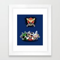 Asgard Puff Framed Art Print