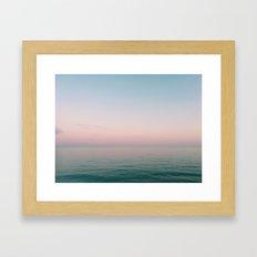 Pastel Ocean III Framed Art Print