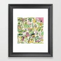Memory Junk Framed Art Print