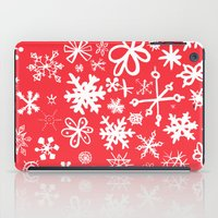 Snowflakes iPad Case