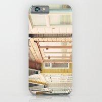 English Beach Huts iPhone 6 Slim Case