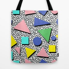 Memphis pattern 5 Tote Bag