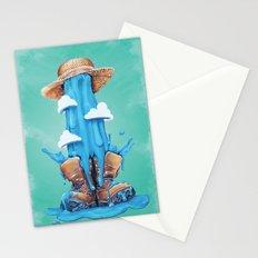 Intrusive Sky Stationery Cards