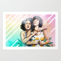 These Are The Broads You… Art Print