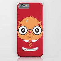 iPhone & iPod Case featuring Mr. Harry Otter  by Tratinchica