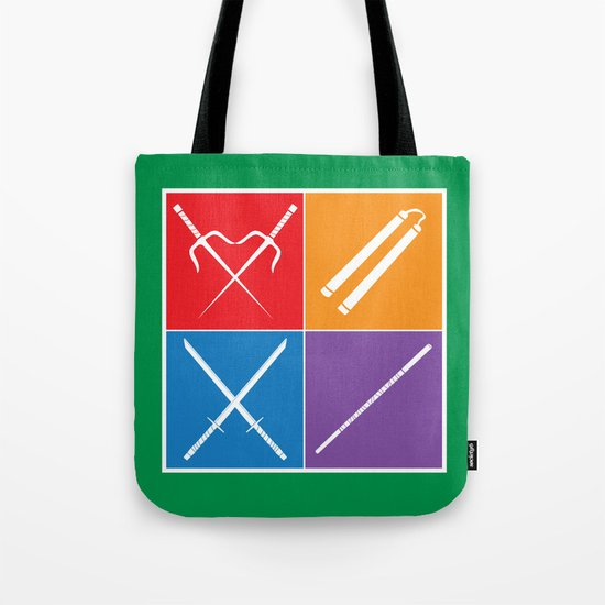 The Weapons Tote Bag