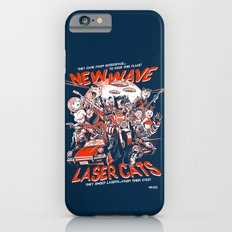 New Wave Laser Cats Slim Case iPhone 6s