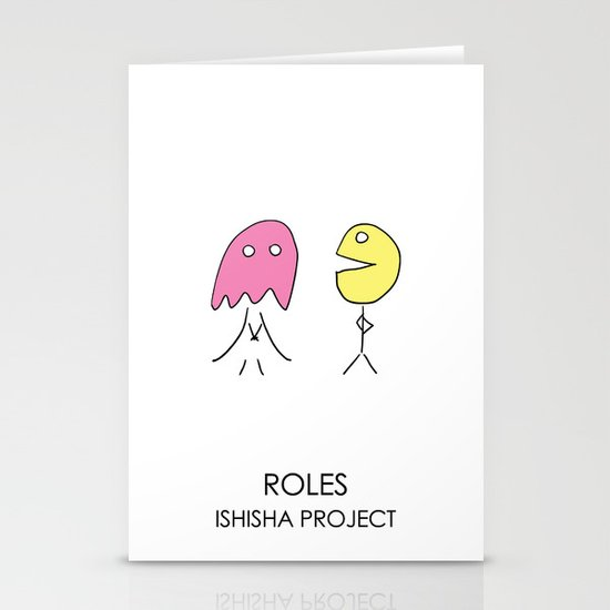 ROLES by ISHISHA PROJECT Stationery Card